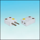 High Temperature Miniature Ceramic Thermocouple Connectors (1200ºF)